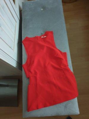 H&M Top o kroju litery A czerwony