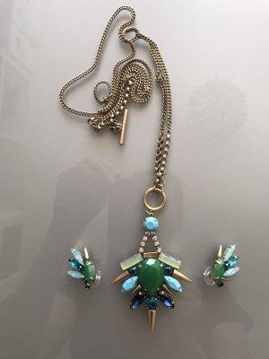 Jade & Jasper Collar estilo collier multicolor metal