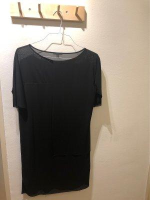 COS Szyfonowa sukienka czarny