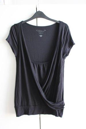 Fishbone T-shirt nero