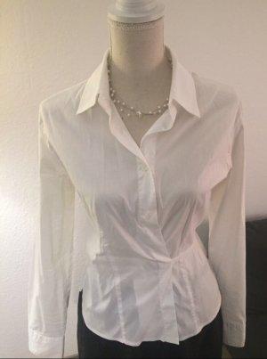 Armani Jeans Wraparound Shirt white