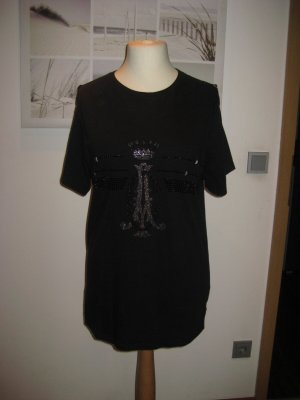 Christian Audigier T-Shirt black-light grey cotton