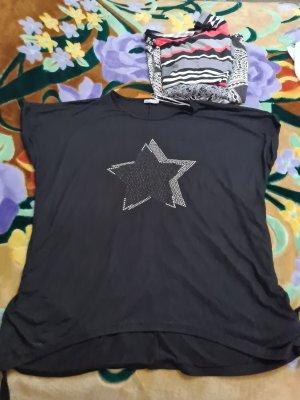 Tolles Shirt mit Glitzersternen