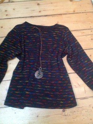 Camicia maglia multicolore Tessuto misto