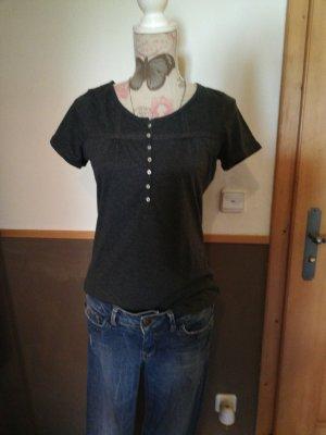 tolles Shirt von Janina grau mit spitze 38