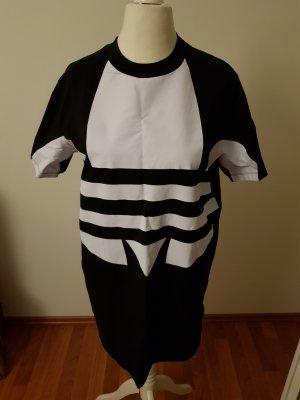 Adidas T-shirt jurk wit-zwart