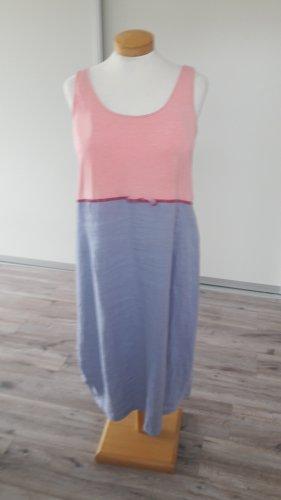 Tolles Sommerkleid Leinen / T-Shirt Gr. 44  /46 wie neu
