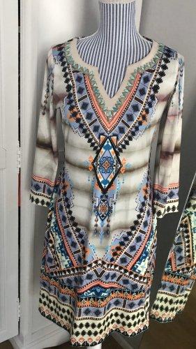 Hale Bob Mini Dress multicolored viscose