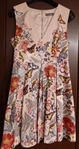 Oasis Letnia sukienka jasnożółty Bawełna