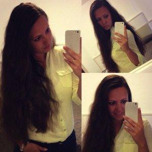 Adagio Camisa color oro-amarillo claro