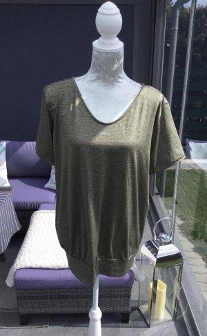 Venice beach T-shirt de sport kaki-gris vert