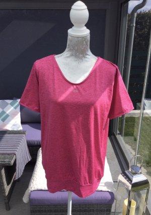 Venice beach T-shirt de sport rose-rose fluo