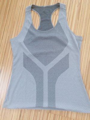 Adidas Camisa deportiva gris claro-gris