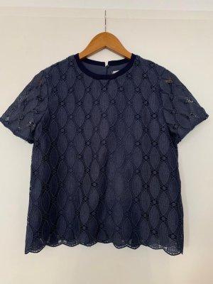 Mango Suit Crochet Shirt multicolored