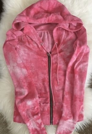100% Fashion Pull à capuche magenta