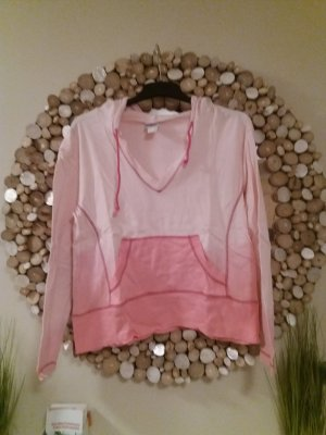 rainbow collection Camicia con cappuccio rosa pallido-rosa