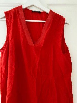 AndOtherStories Camisa de mujer naranja oscuro-rojo