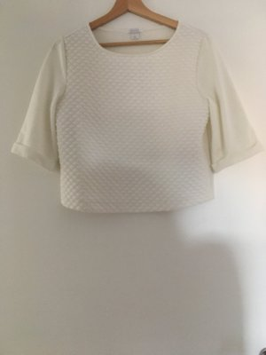 Tolles weißes cropped Shirt