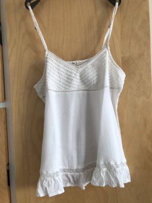 Hollister Lace Top white