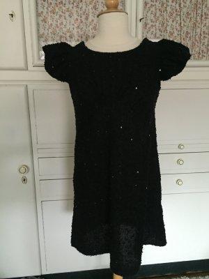 Yumi Robe à paillettes noir