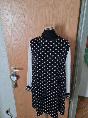 Zara Sweat Dress white-black
