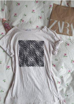 Tolles Zara Shirt in hellbeige
