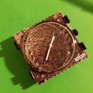 Fermoir de montre bronze