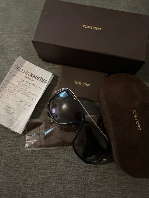 Tom Ford Glasses black-gold-colored
