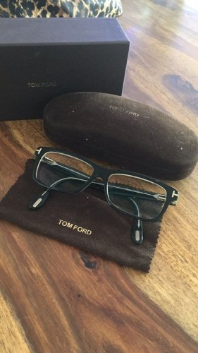Tom Ford Glasses black-silver-colored