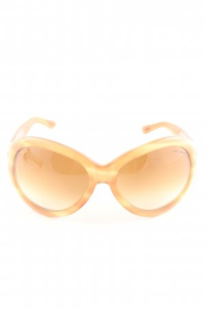Tom Ford Butterfly Brille hellorange Casual-Look