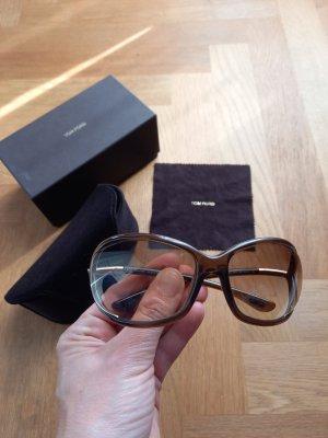 Tom Ford Okulary brązowy