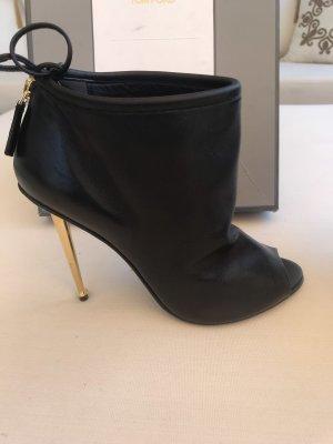 Tom Ford peep toe boots