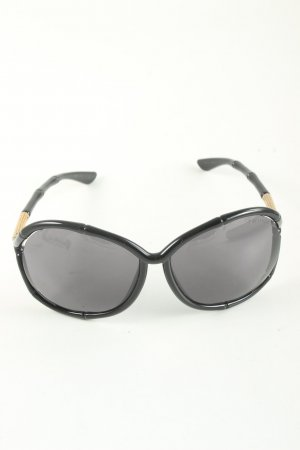 Tom Ford Retro Glasses black-gold-colored casual look