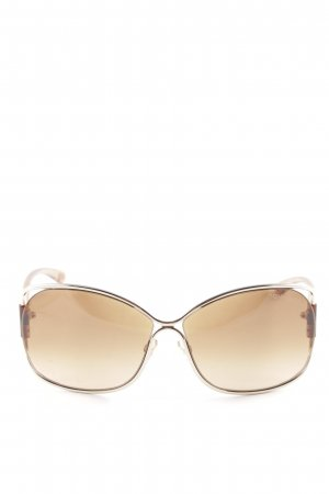 Tom Ford Retro Brille braun Casual-Look