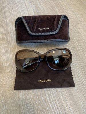 Tom Ford Okulary motylki brąz-brązowy