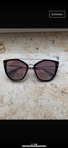 Tom Ford Occhiale stile retro nero-color oro rosa
