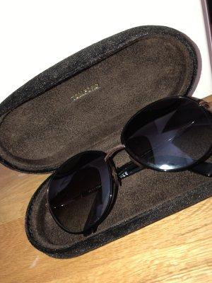Tom Ford Round Sunglasses black
