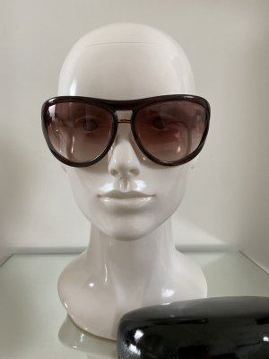 Tom Ford Oval Sunglasses brown
