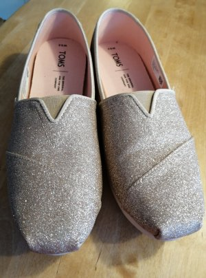 Toms Espadrillas color oro rosa