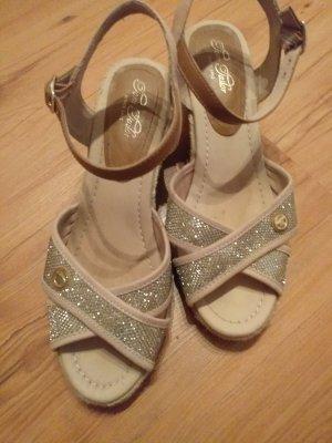 Tom Tailor Espadrille sandalen licht beige-beige