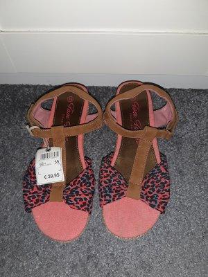 Tom Tailor Platform High-Heeled Sandal pink-pink