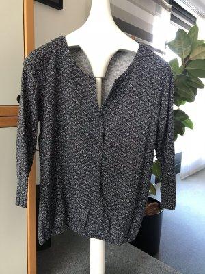 Tom Tailer, T-Shirt, schwarzgemustert, Gr. L