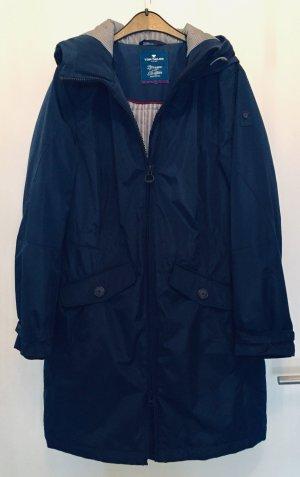 Tom Tailor Zware regenjas donkerblauw