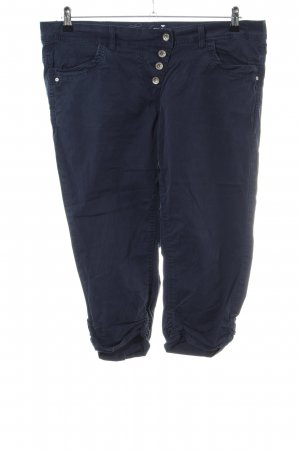 Tom Tailor 3/4-Hose blau Casual-Look