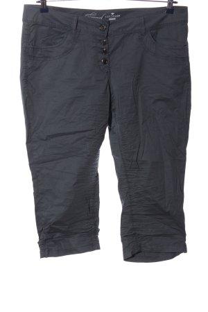 Tom Tailor Pantalone a 3/4 grigio chiaro stile casual