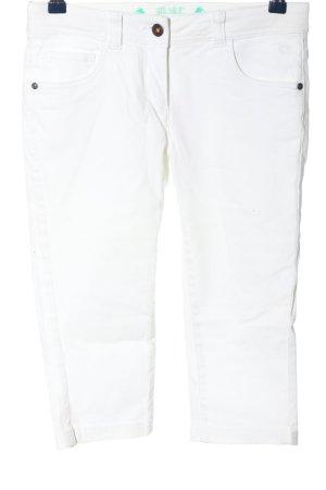 Tom Tailor 3/4-Hose weiß Casual-Look