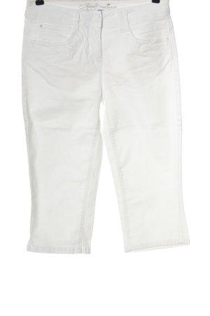 Tom Tailor Jeansy 3/4 w kolorze białej wełny W stylu casual