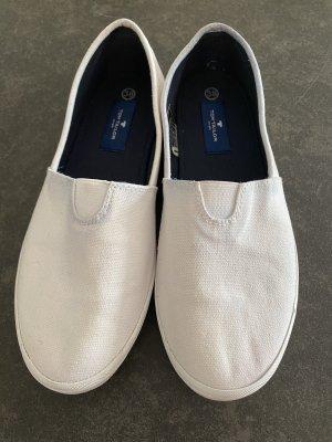 Tom Tailor Sneaker slip-on bianco