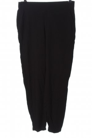 Tom Tailor 7/8 Length Trousers black business style