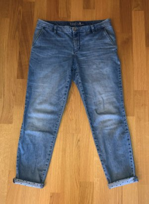 Tom Tailor 7/8 Jeans Denim Chino W30 L32 Gr. 40 blau w. Neu